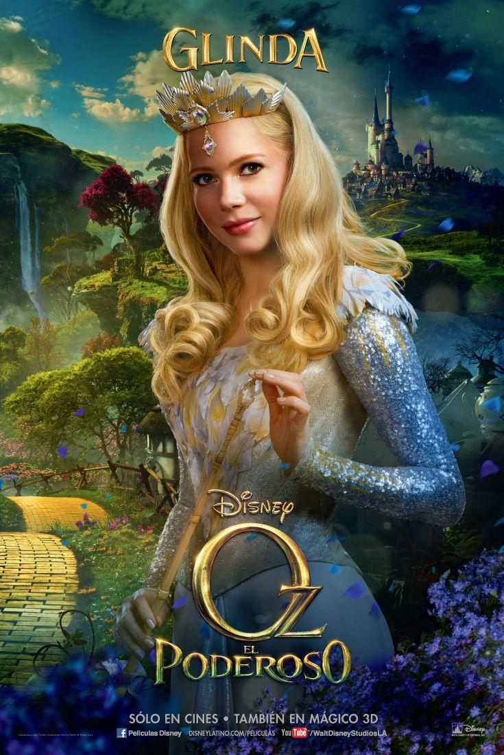 Oz El Poderoso Glinda Mundo De Fantasia Mago De Oz Personajes