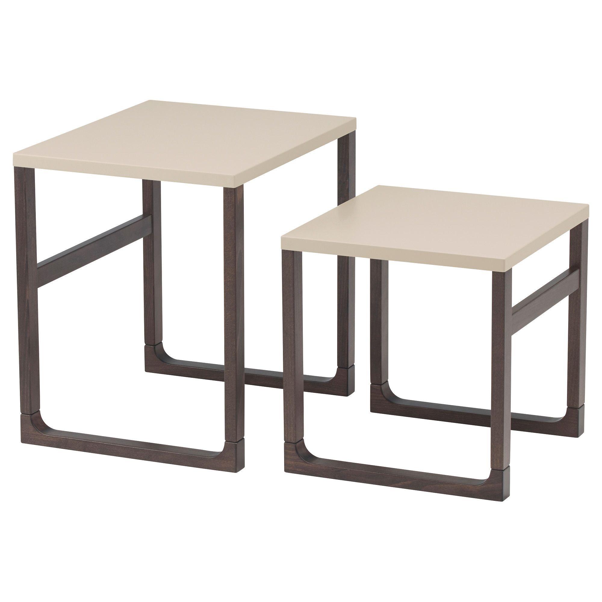 Rissna Trapezia Zigkon Set 2 Tem Ikea Nesting Tables Ikea Coffee Table Ikea Nesting Tables [ 2000 x 2000 Pixel ]