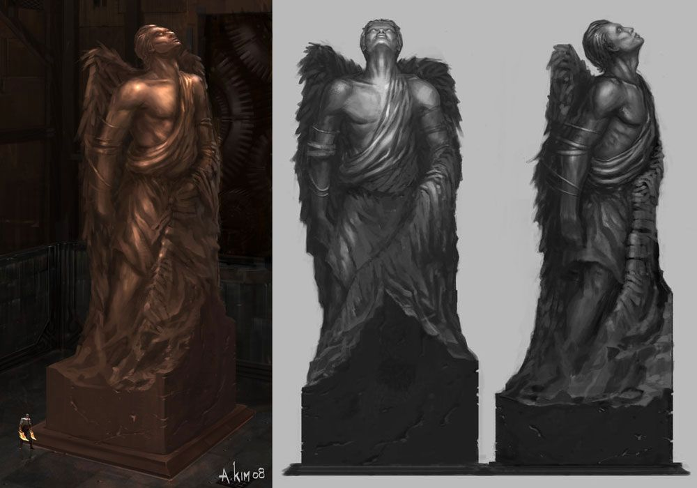 God of War III - Icarus Statue