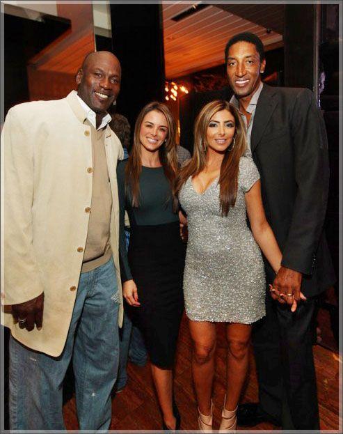 Michael Jordan New Wife Photos Michael Jordan Scottie Pippen And