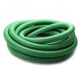 7.5m FLAT Garden HOSE with BRASS fittings made in Britain