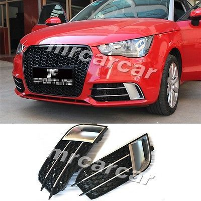 A1 Abs Car Front Fog Lamp Light Covers Fit For Audi A1 Standard