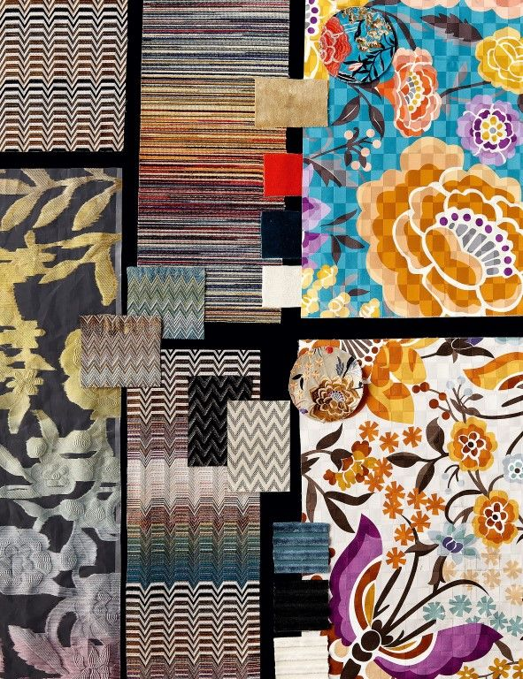 fb7d48e2edbef5 Oriental Garden Moodboard - Missoni Home Collection 2016