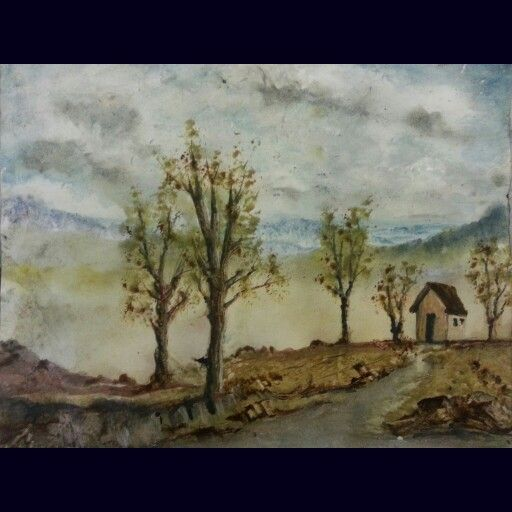 #watercolorpainting #art #fineart #landscape #painting #kamabdul  #watercolor #trees #Watercolour #artwork #mountains #sky  #clouds #cottage #oil #pastel  #softpastel #rocks #driveway #dirt #road  #house #nature #artforsale #makeoffer on paper 25x30 cm  kam123a@gmail.com