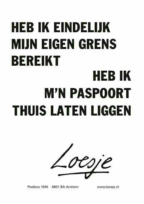 grens - paspoort