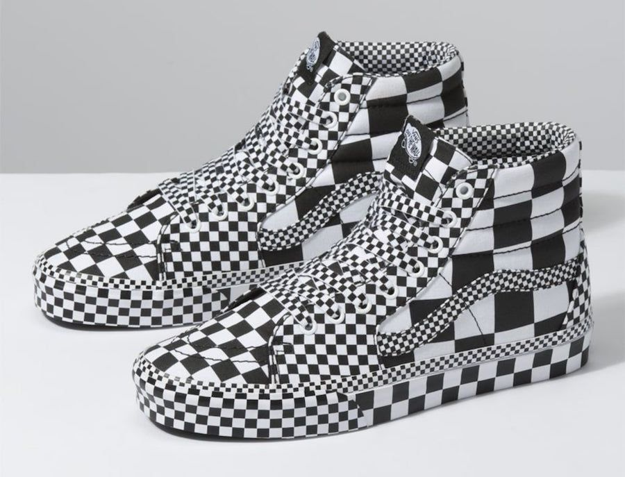 Vans All Over Checkerboard Pack   Sneaker bar, Crazy shoes