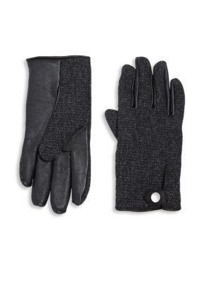 Ugg Smart Wool Blend Gloves Cloth