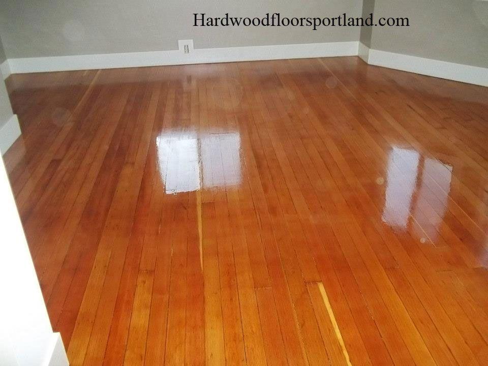Douglas Fir Floors Refinished Natural Color With Polyurethane Finish Douglas Fir Flooring Hardwood Floor Colors Flooring