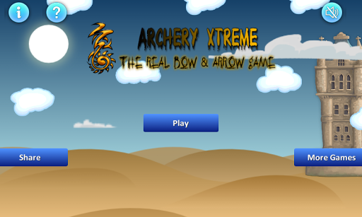 "- This is a bow and arrow game. <br>- The game play is to shoot a Target board with bow and arrow and make a   great high score. <br>- The main thing is ""Dotted Line""(Trajectory), you can make more scores.<br>- By getting 50 points, get 2 bonus arrow and for 40 1 bonus arrow.<br>- Download and play this game, you will enjoy it very much, and  also share .<br>- Get real rewards for making High score.<p><br>* Coming Soon Features:-<br>- Leaderboard to share your hard level score with friends…"