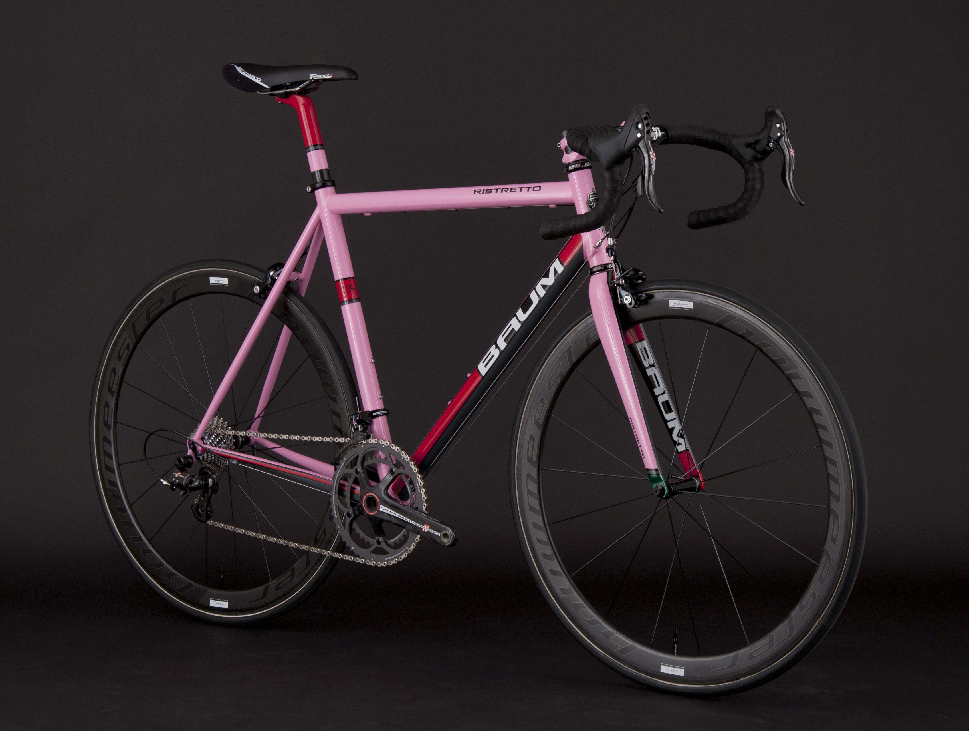 Gta Pink Red Ristretto Titanium Road Bike Pink Bike Road Bikes