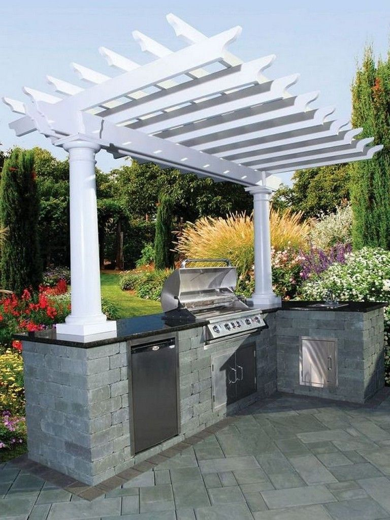 Barbecue Patio Ideas With The Weekend Drawing To A Close And Summer Just On The Way Getting A Barbecue Sta Outdoor Bbq Outdoor Backyard Outdoor Grill Island