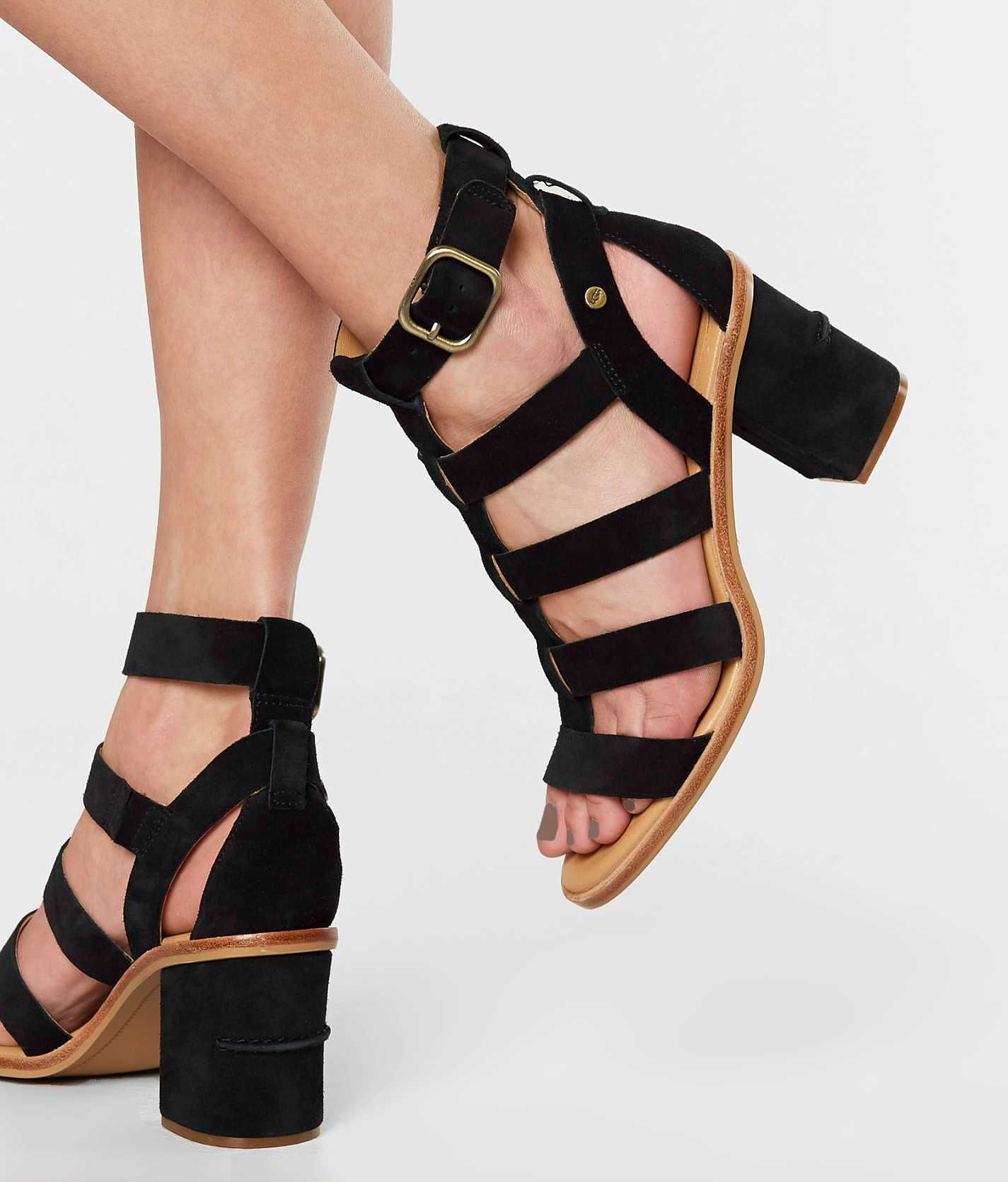 e263fe71a4e UGG® Macayla Heeled Sandal - Women's Shoes in Black | Buckle | Shoes ...