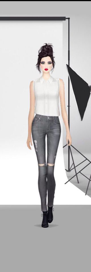 I absolutely love this look I made on covet... Not a thing I would change!