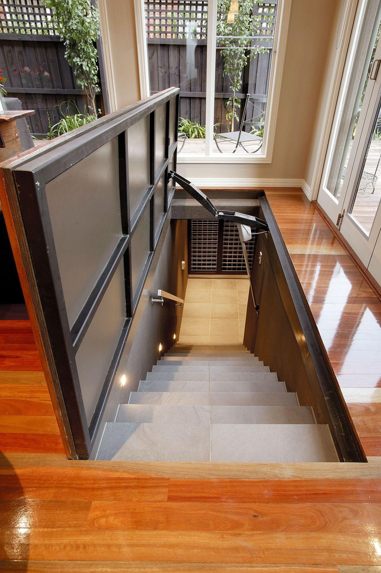 Safe Room Design: Safe Room, Renovations, Staircase Design
