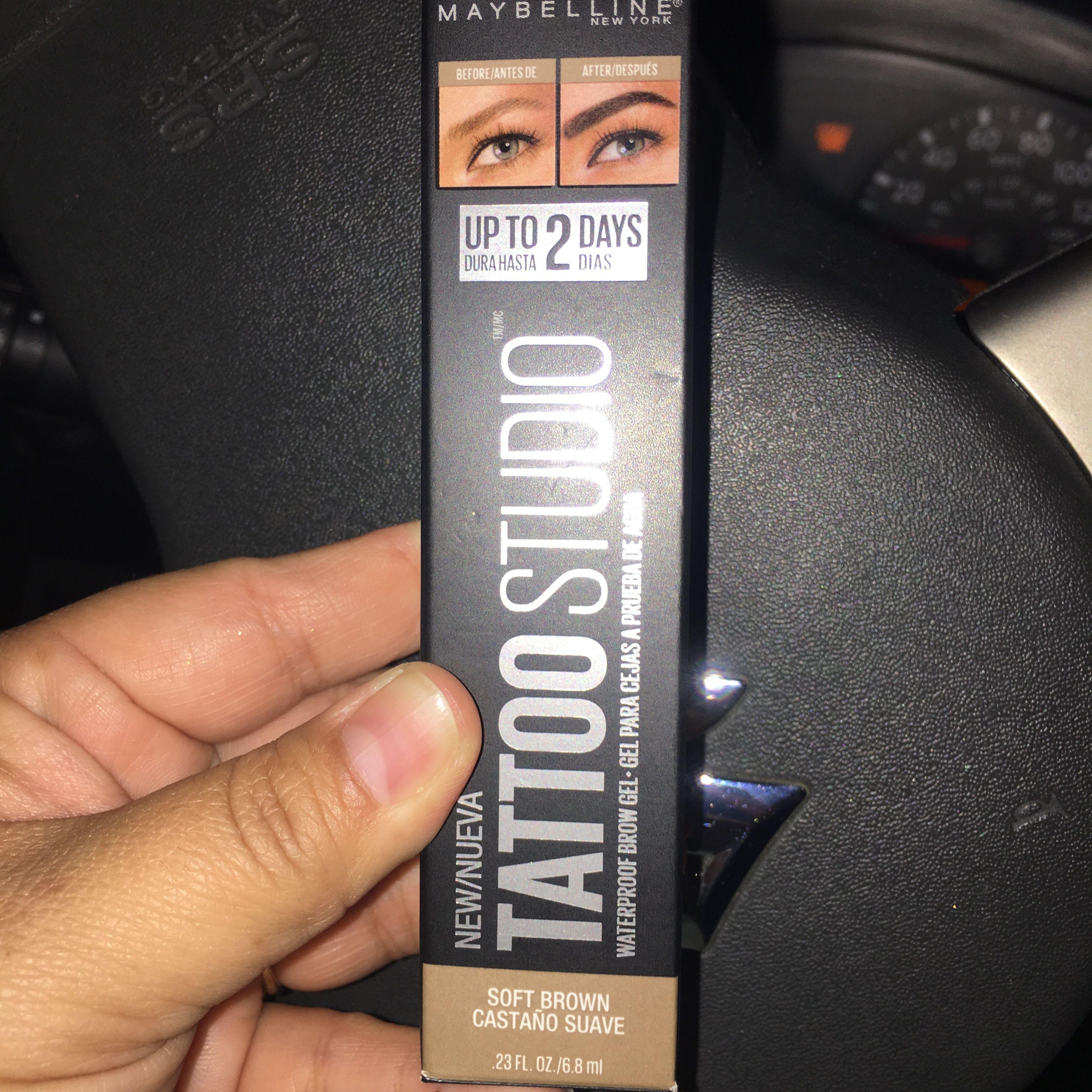 New Maybelline Eyebrow Tattoo Studio Maybelline eyebrow