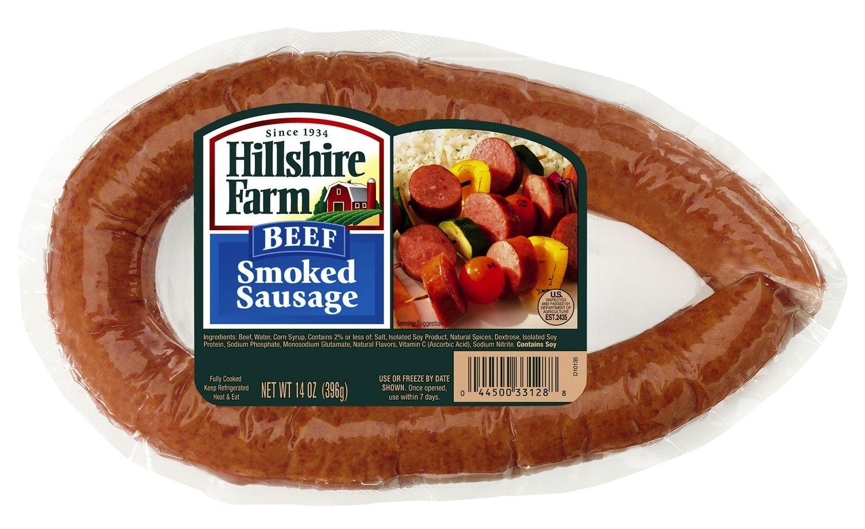Hillshire Farms Natural Smoked Sausage Gluten Free