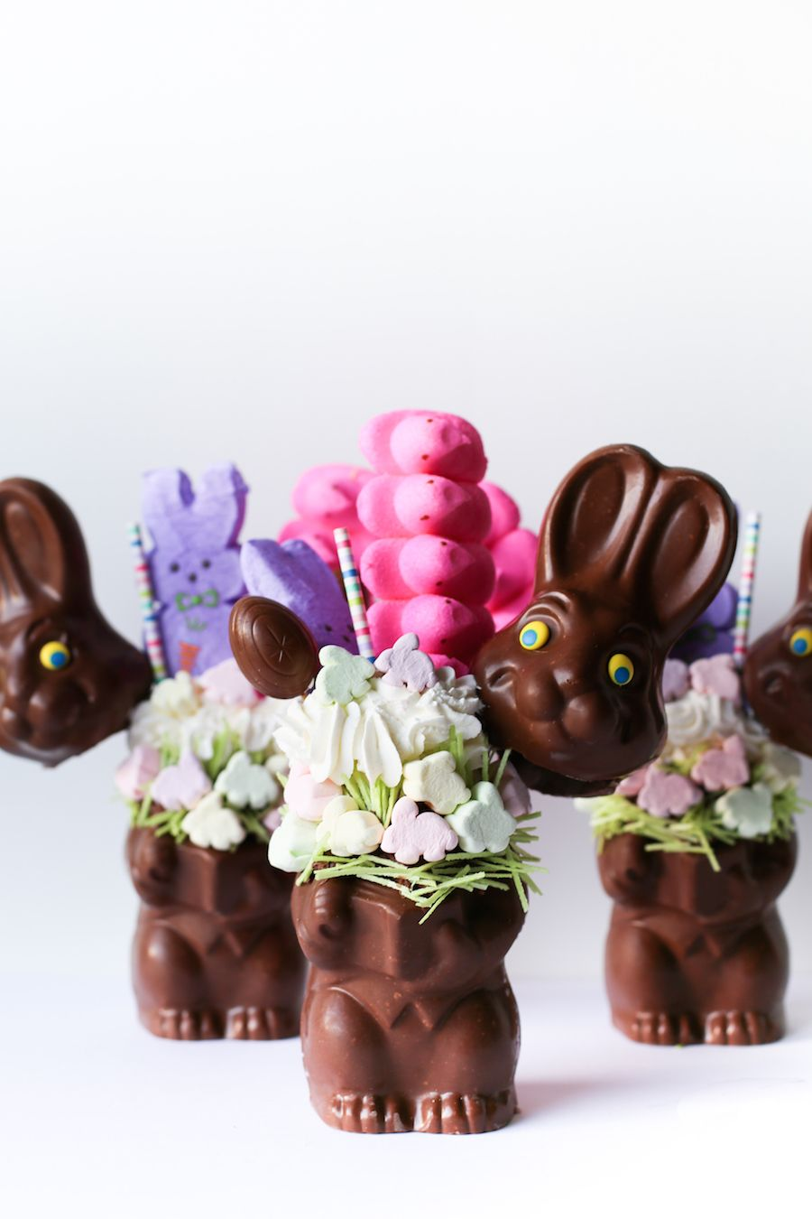 Easter bunny basket milkshake recipe milkshake easter baskets easter instead of negle Image collections