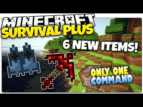 Minecraft | SURVIVAL PLUS | 6 New OP Items! | Only One