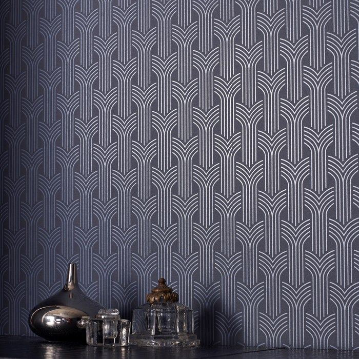 Cinema Art Deco Wallpaper Geometric Wall Coverings by