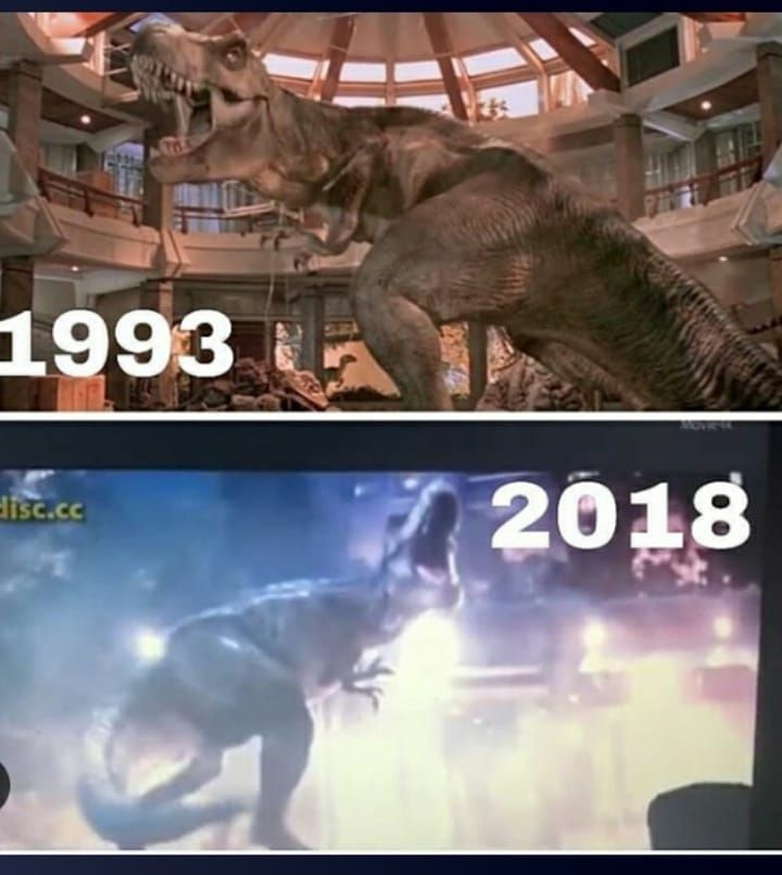 Rexy 1993-2018.Very Interesting Flashback From JP1