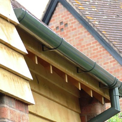 Guttercrest Aluminium Guttering Downpipes Rainwater Drainage Systems With Images Gutters Rainwater Drainage How To Install Gutters