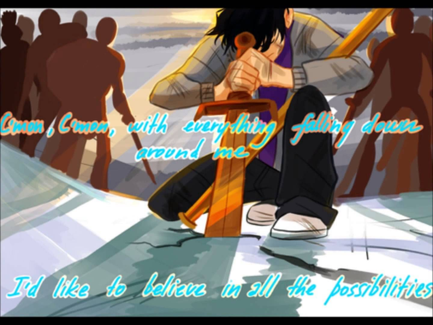 •Heroes of Olympus ~ Tribute to Percy Jackson ~ Fan art by Viria on Tumblr ~ C'mon ~ Music by Fun ~ Video by Sam the Great on YouTube•