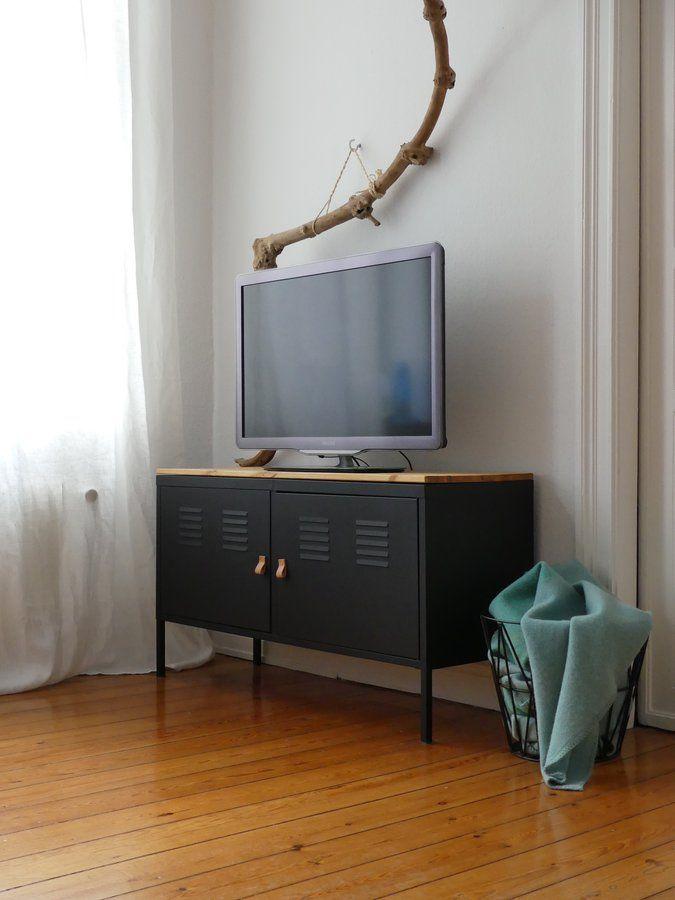 IKEA Hack - Aus schlichtem PS-Schrank wird schicke TV-Konsole - schlafzimmerschrank mit tv