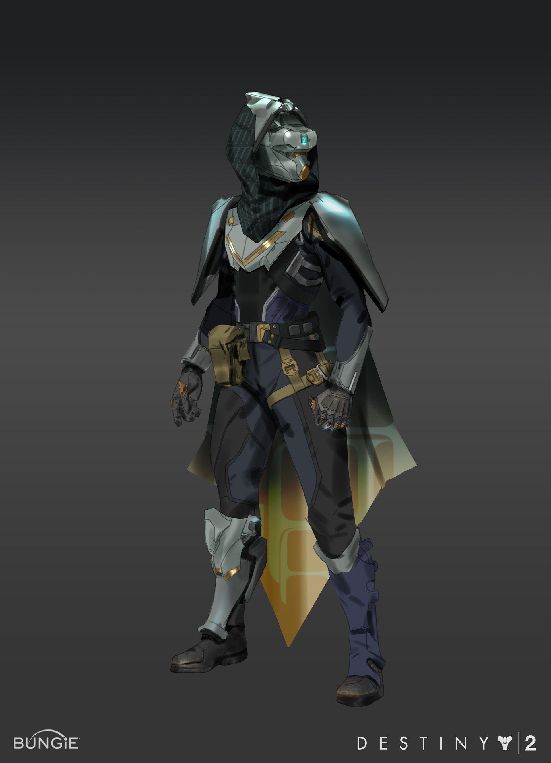Hunter Titan And Warlock Sets Done For The Curse Of Osiris DLC Destiny 2