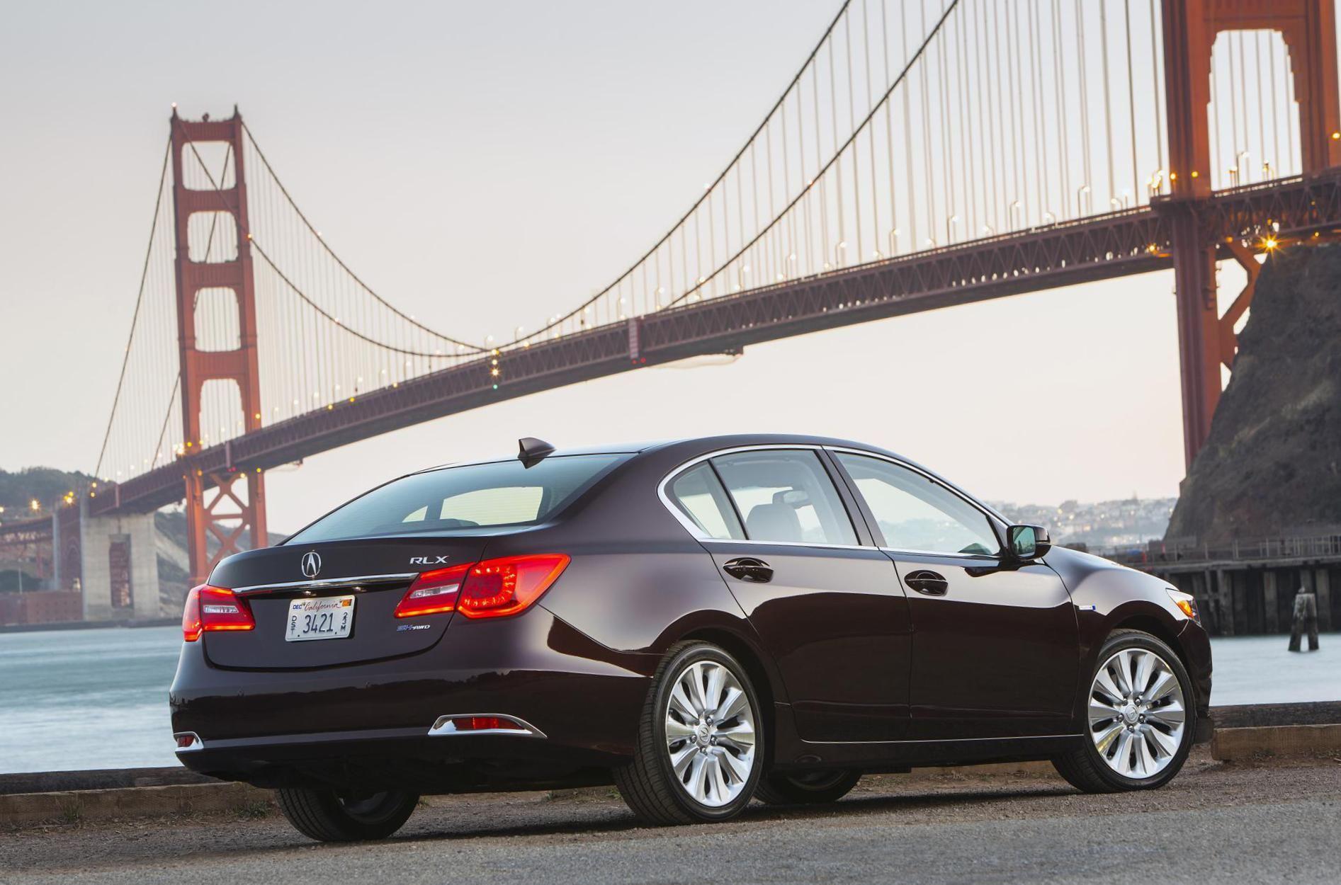 RLX Sport Hybrid Acura new