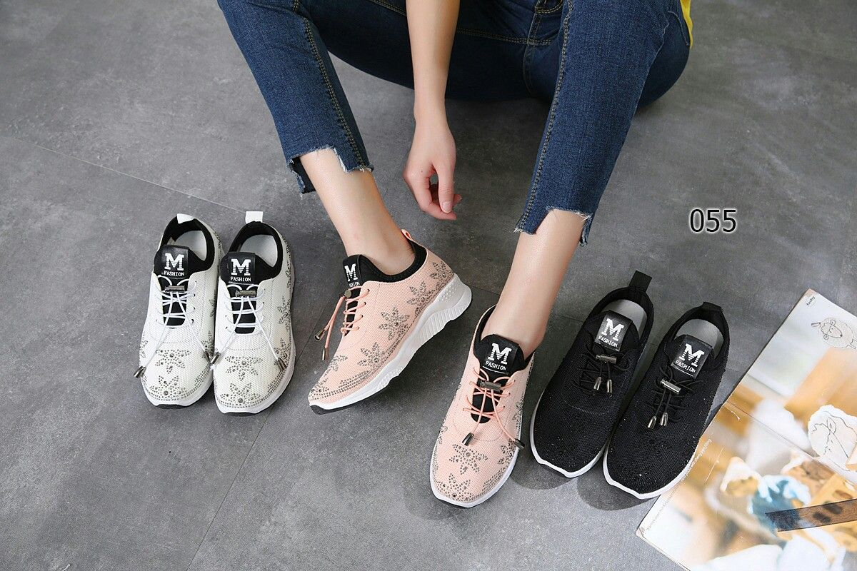 Sneaker Fashion Ms623 055 36 23cm 37 23 5 Cm 38 24 Cm 39 24 5 Cm
