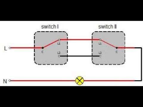 2 way switch wiring diagram australia  light switch light