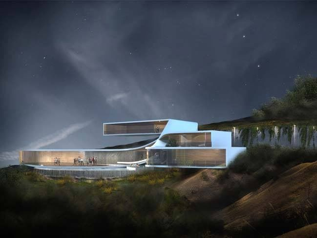 Pin By Alberto Chan On House Futuristic Home Fantasy House Architecture Exterior