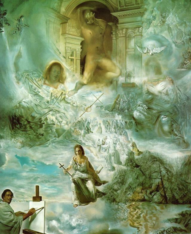 Salvador Dali Born in Spain 1904-1989. Famous Paintings, sculptures, writer, screenwriter. Chantal ~