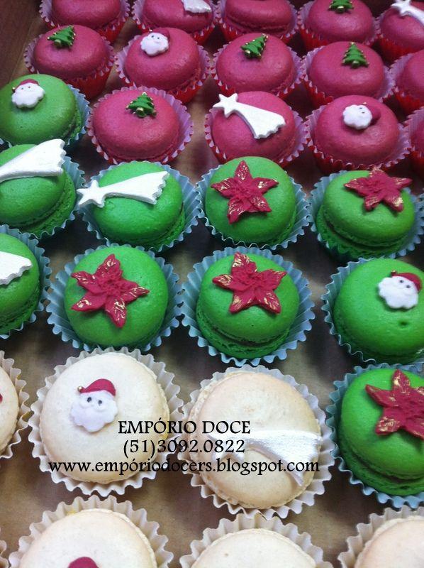 Macarons natalinos!