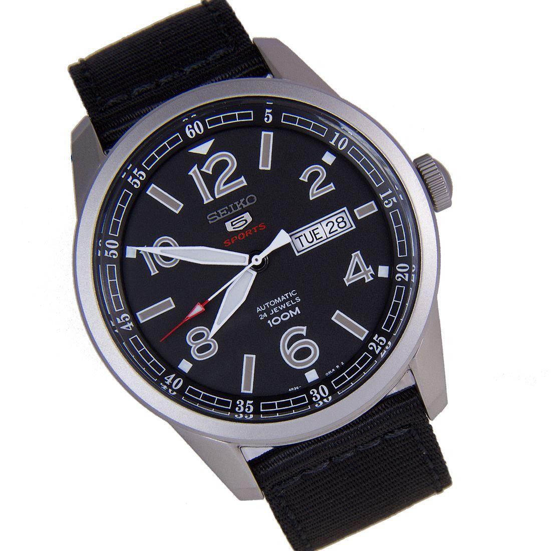 Seiko 5 SRP625K1 SRP625K SRP625 Sports Automatic Watch