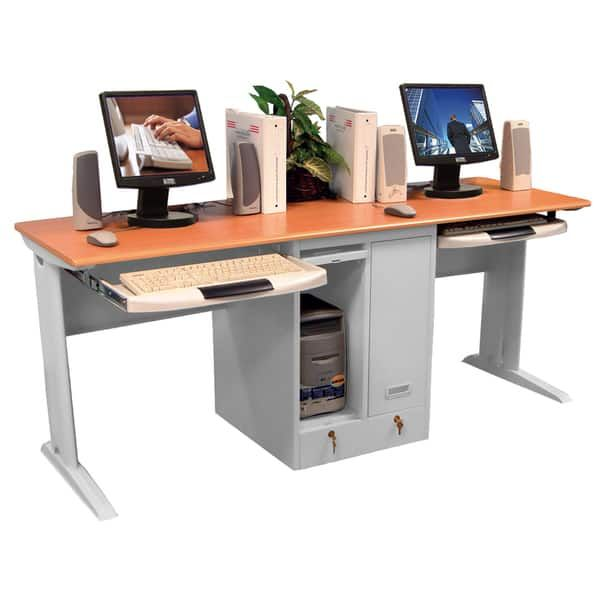 More Ideas Below Diy Two Person Office Desk Storage Plans L Shape Two Person Desk Furniture Ideas Rustic Two Home Office Furniture Two Person Desk Desk Design