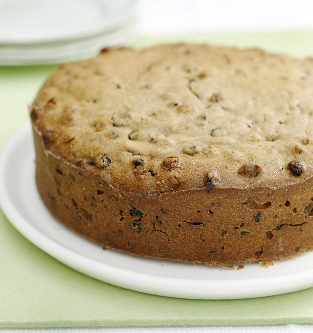 A traditional light Fruit Cake Recipe with a special blend of spices.