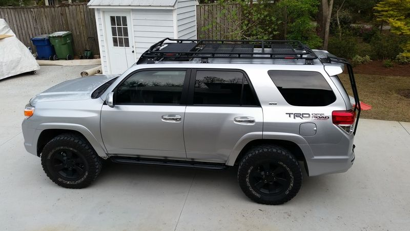 Diy Gobi Stealth Roof Rack Ladder Install Toyota 4runner Forum Largest 4runner Forum Toyota 4runner Toyota 4runner Trd 4runner Mods