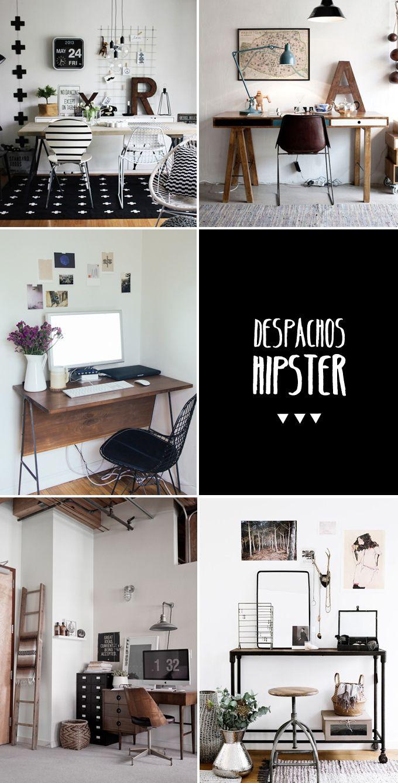 Decoración Hipster | Estudis | Pinterest | Raumgestaltung, Arbeitszimmer  Und Architektur
