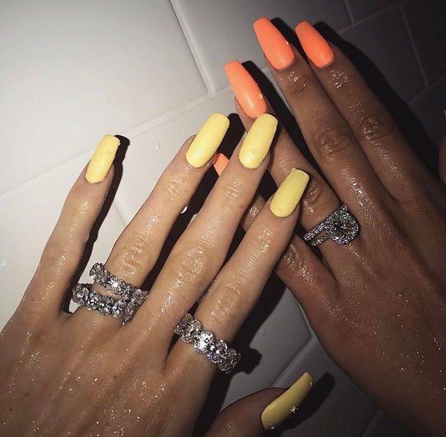 Bylolita Beverly Hills Diamond Band Kylie Nails Kardashian Nails Kylie Jenner Nails