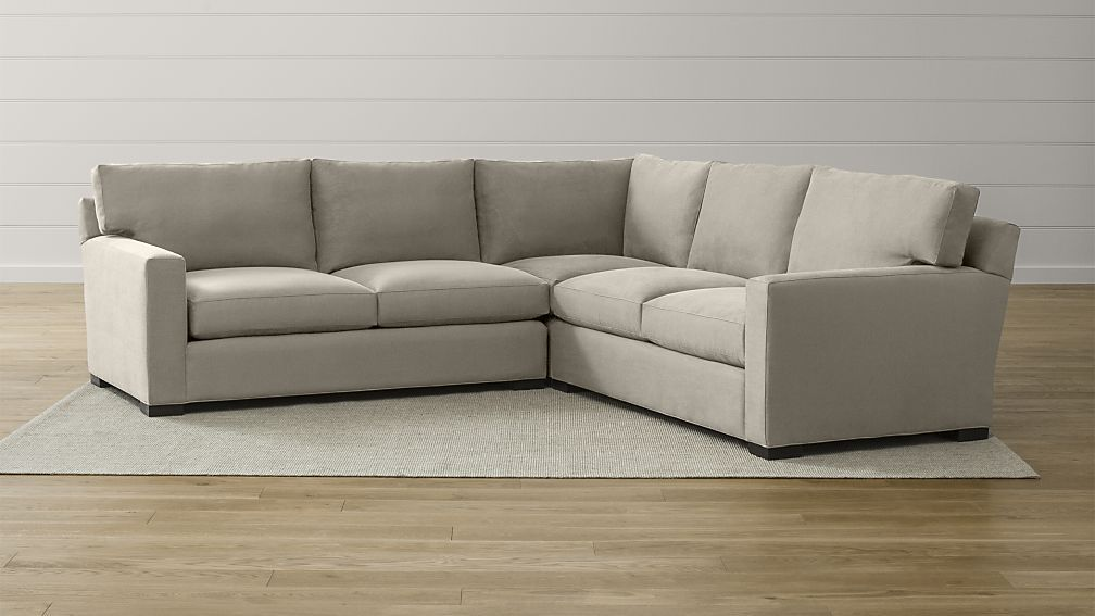 axis ii 3piece sectional sofa