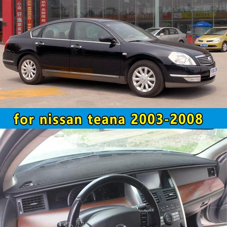 Car Dashmats Car Styling Accessories Dashboard Cover For Nissan Teana J31 2003 2004 2005 2006 2007 2008 Dashboard Covers Interior Accessories Nissan