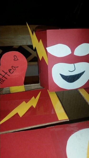 The Flash Valentine S Box Valentine Box Valentines The Flash