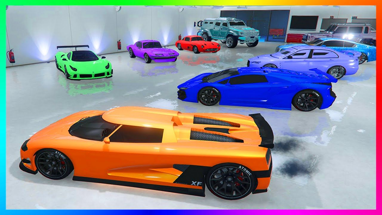 Mrbossftw Ultimate Gta Online Garage Tour 3 Full Garages W Millions Of Dollars In Cars Gta 5 Gta Cars Grand Theft Auto Gta Online