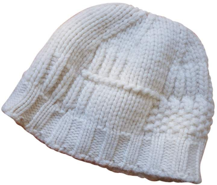 9500a635 Hermes White Cashmere Hats in 2019 | Products | Cashmere hat ...
