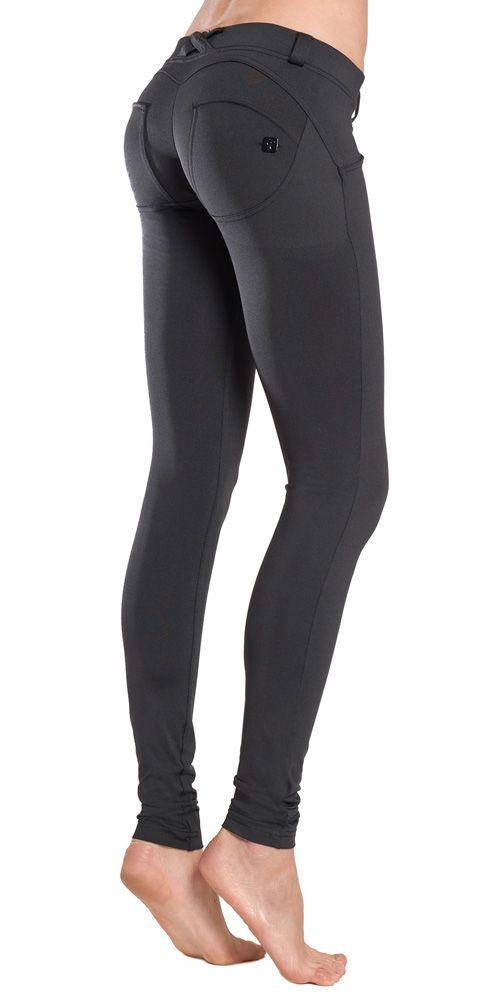 size 40 1b0d1 d7f5d FREDDY WR.UP® SKINNY D.I.W.O SATIN FINISH - BLACK | leggings ...