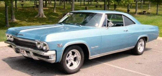 1965 Chevy Impala Convertible in the rare Evening Orchid color