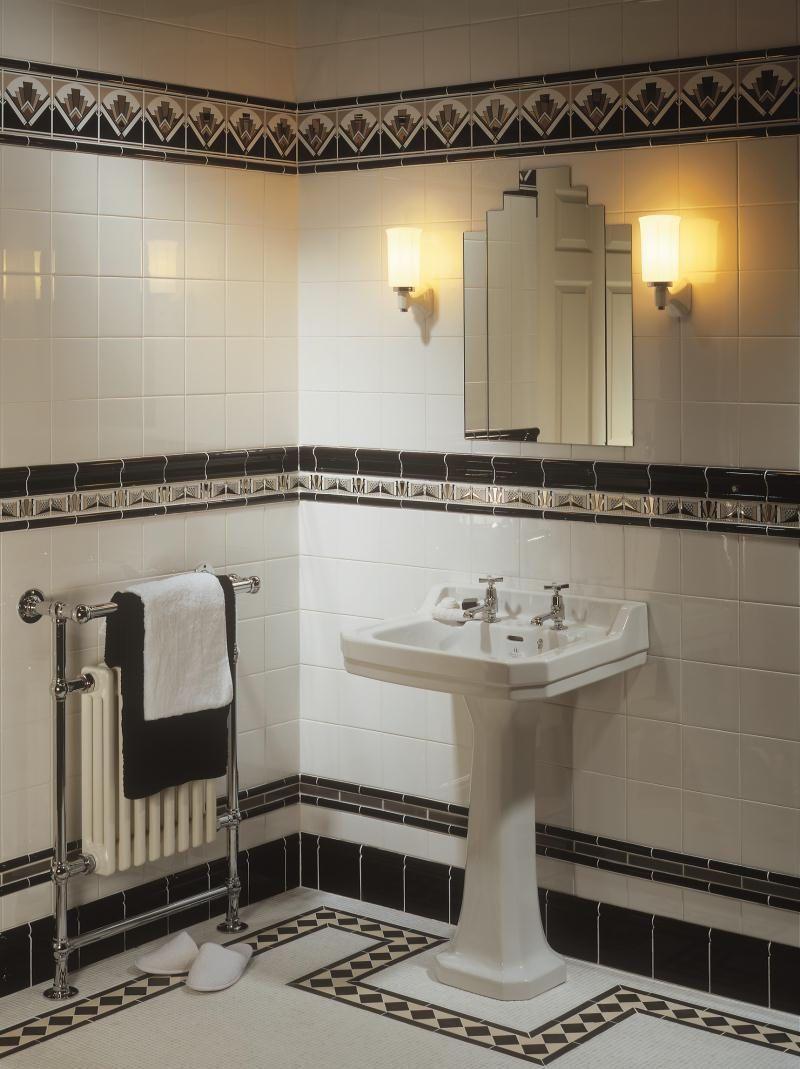Art Deco Bathroom: Bathroom Tile / Indoor / Wall / Ceramic ART DECO ORIGINAL