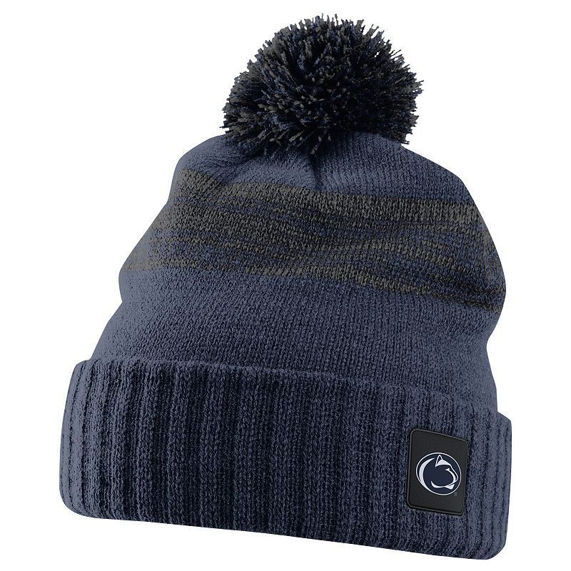 6f438a84147a3 Nike Penn State Nittany Lions Striped Knit Beanie - Adult