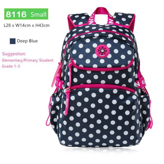 sky blue polka dot backpacks for teenage girls school bags schoolboy  bagpack student bookbag schoolbag women backpack mochila ef6e2ee387